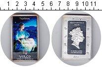 Изображение Монеты Ниуэ 2 доллара 2011 Серебро Proof- Елизавета II. Дева