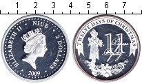 Изображение Монеты Ниуэ 2 доллара 2009 Серебро Proof- Елизавета II. флейти