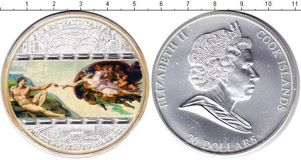 Картинка Монеты Острова Кука 20 долларов Серебро 2006