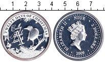 Изображение Монеты Ниуэ 2 доллара 2009 Серебро