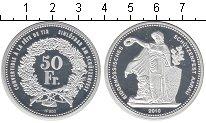 Изображение Монеты Швейцария 50 франков 2010 Серебро Proof-