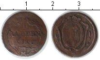 Изображение Монеты Швейцария 1 рапп 1816 Медь VF Кантон Schwytz