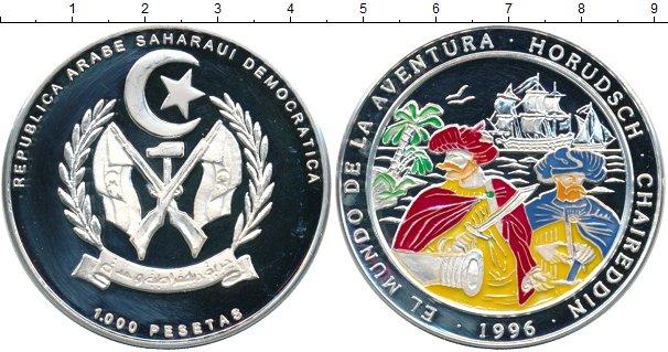 Картинка Монеты Сахара 1.000 песет Серебро 1996