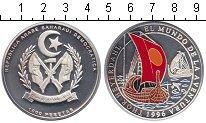 Изображение Монеты Сахара 1000 песет 1996 Серебро Proof- Морские суда