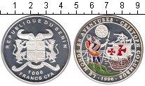 Изображение Монеты Бенин 1000 франков 1996 Серебро Proof- Жизнь и приключения