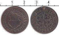 Изображение Монеты Швейцария 2 крейцера 1798 Серебро VF