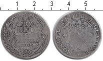 Изображение Монеты Швейцария 10 шиллингов 1736 Серебро  Кантон Цюрих