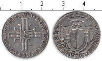 Изображение Монеты Швейцария 1/4 гульдена 1793 Серебро