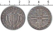 Изображение Монеты Швейцария 20 крейцеров 1793 Серебро XF