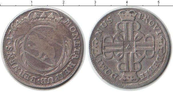 Картинка Монеты Швейцария 20 крейцеров Серебро 1764