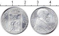 Изображение Монеты Ватикан 10 лир 1950 Алюминий XF