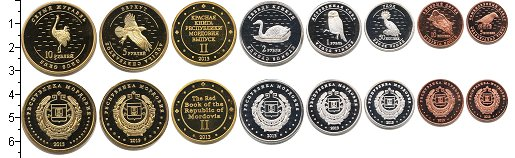 Изображение Наборы монет Мордовия Мордовия-2013 2013  Proof- В наборе 7 монет ном