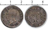 Изображение Монеты Гаити 25 сантимов 1828 Серебро
