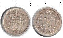 Изображение Монеты Нидерландская Индия 1/4 гульдена 1921 Серебро XF