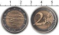 Изображение Мелочь Финляндия 2 евро 2007 Биметалл UNC 90 лет независимости