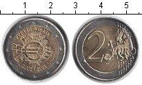 Изображение Мелочь Кипр 2 евро 2012 Биметалл XF