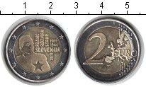 Изображение Мелочь Словения 2 евро 2011 Биметалл UNC-