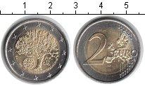 Изображение Мелочь Португалия 2 евро 2007 Биметалл UNC-