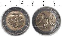 Изображение Мелочь Люксембург 2 евро 2011 Биметалл UNC-