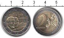 Изображение Мелочь Люксембург 2 евро 2012 Биметалл UNC- 100 лет со дня смерт