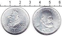 Изображение Монеты Италия 500 лир 1983 Серебро UNC 100 лет со дня смерт