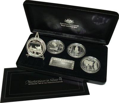 Изображение Подарочные монеты Австралия Шедевры в серебре 2006 Серебро Proof