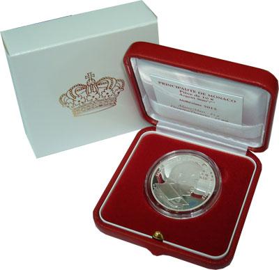 Изображение Подарочные монеты Монако Принц Оноре 2012 Серебро Proof Подарочная монета по