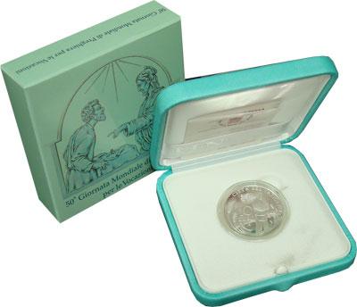 Изображение Подарочные монеты Ватикан Франциск 2013 Серебро Proof