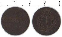 Изображение Монеты Германия Пруссия 1 пфенниг 1810 Медь