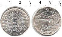 Изображение Монеты Австрия 5 евро 2003 Серебро UNC Гидроэнергетика Авст