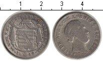 Изображение Монеты Саксония 1/6 талера 1842 Серебро