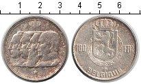 Изображение Монеты Бельгия 100 франков 1950 Серебро