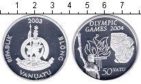 Изображение Монеты Вануату 50 вату 2003 Серебро