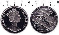Изображение Монеты Гибралтар 28 экю 1993 Медно-никель  Евротоннель