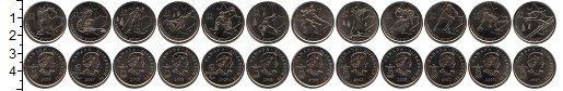 Изображение Наборы монет Канада Канада 2007-2009 2007 Медно-никель UNC- В наборе 12 монет но
