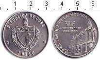 Изображение Монеты Куба 1 песо 1988 Медно-никель UNC- Театр Гавана