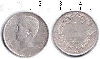 Изображение Монеты Бельгия 1 франк 1911 Серебро  Альберт. DER BELGEN