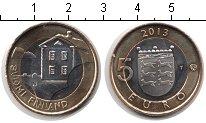 Изображение Мелочь Финляндия 5 евро 2013 Биметалл UNC- дом