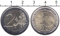 Изображение Мелочь Бельгия 2 евро 2013 Биметалл UNC-