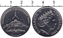 Изображение Мелочь Австралия 20 центов 2013 Медно-никель UNC- Елизавета II. 25-лет