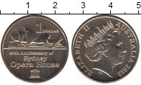 Изображение Мелочь Австралия 1 доллар 2013  UNC-