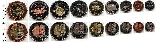 Изображение Наборы монет Остров Святого Евстафия Остров Святого Евстафия 2013 2013  UNC- В наборе 9 монет ном