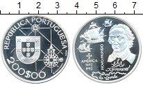 Изображение Монеты Португалия 200 эскудо 1992 Серебро Proof- Ференс
