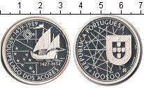 Изображение Монеты Португалия 100 эскудо 1989 Серебро Proof-