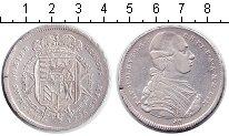 Изображение Монеты Италия 1 франческоне 1786 Серебро  TUSCANY. Пьетро Леоп