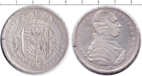 Картинка Монеты Италия 1 франческоне Серебро 1786