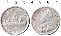 Изображение Монеты Канада 1 доллар 1936 Серебро XF Георг V