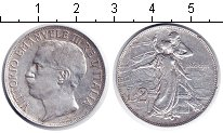 Изображение Монеты Италия 2 лиры 1911 Серебро VF