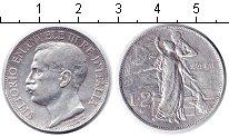 Изображение Монеты Италия 2 лиры 1911 Серебро  50-летие династии