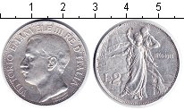 Изображение Монеты Италия 2 лиры 1911 Серебро XF